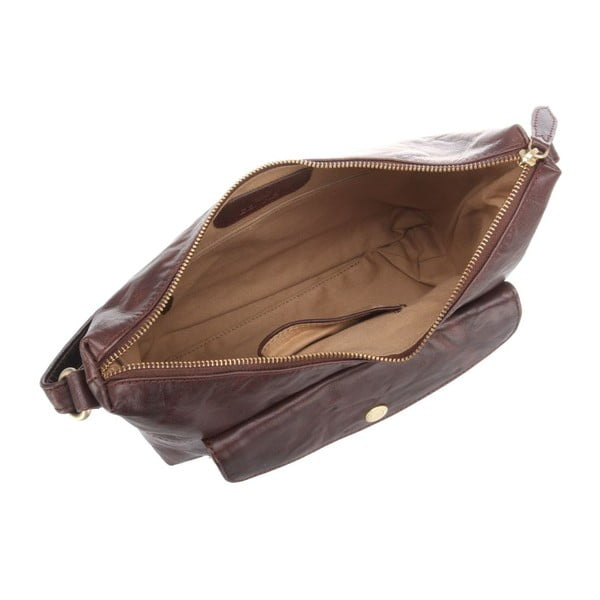 Kožená taška Angel Brown