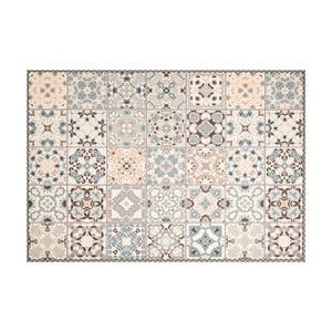 Vzorovaný vinylový koberec Zala Living Zoe Light,195×120cm