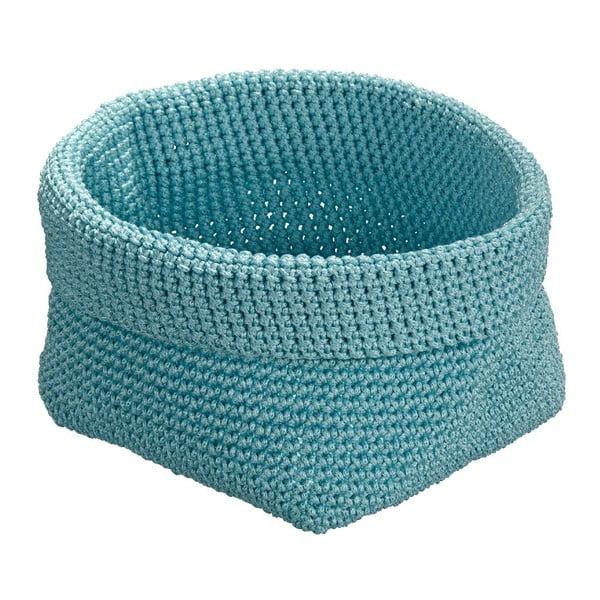 Modrý okrúhly  košík Wenko Malia
