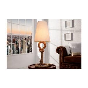 Béžová stolová lampa SOB Kate
