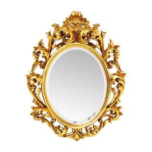Zrkadlo v zlatej farbe Kare Design Sun King