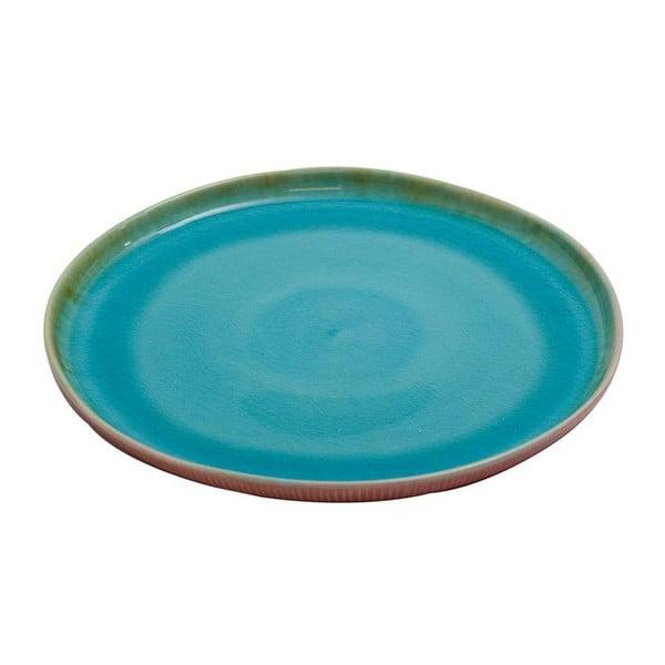 Keramický tanier Prego Plain Azur, 27 cm