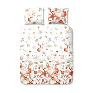 Obliečky na dvojlôžko z bavlny Muller Textiels Good Morning Shells, 200×200 cm