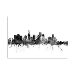 Plagát Americanflat LA streets, 42 x 30 cm