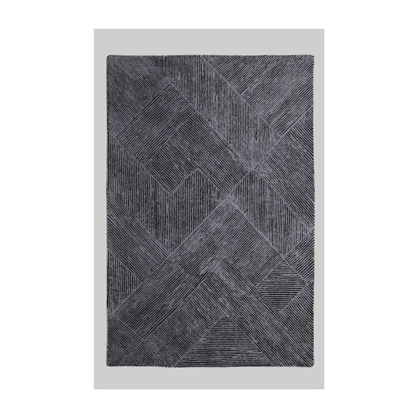 Vlnený koberec Balta Graphite, 160x230 cm
