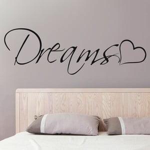 Dekoratívna samolepka na stenu Dreams