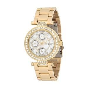 Dámske hodinky zlatej farby z antikoro ocele Bigotti Milano Crystalino