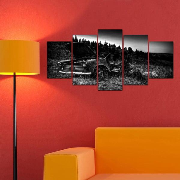 Viacdielny obraz Black&White no. 97, 100x50 cm
