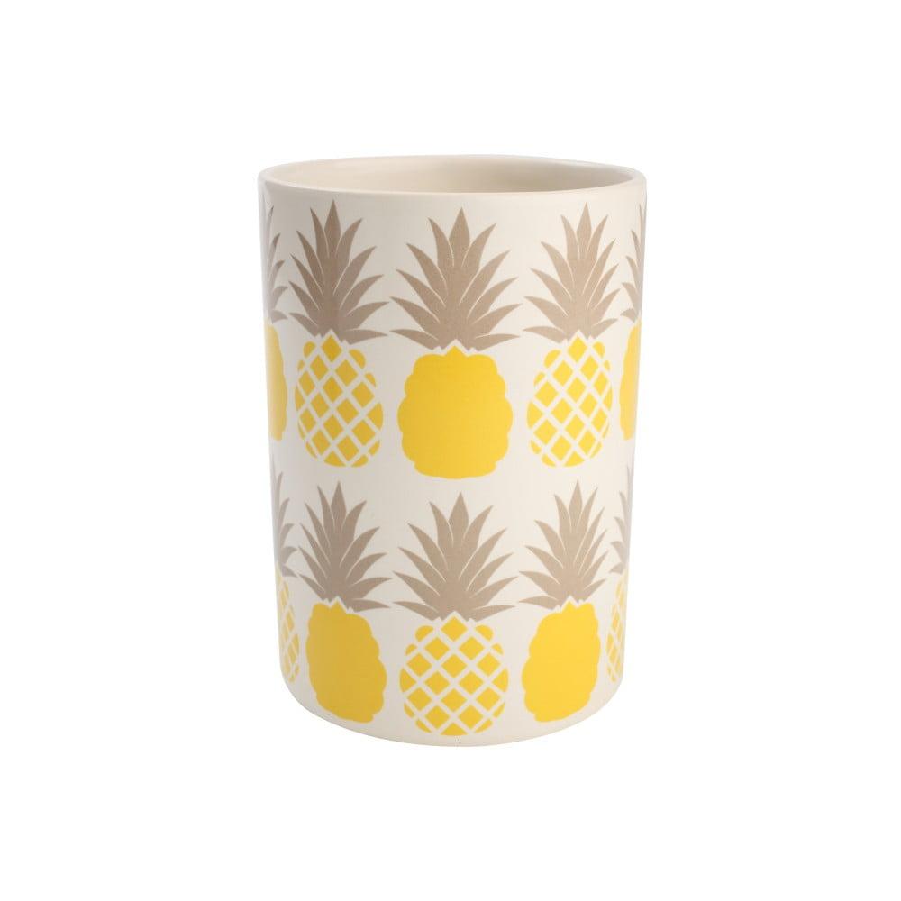Keramický stojan na kuchynské nástroje T&G Woodware Tutti Frutti Pineapple