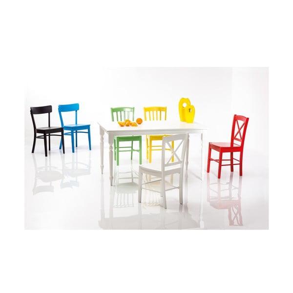 Modrá stolička Signal Rachel