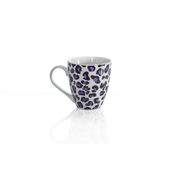 Porcelánový hrnček Sabichi Leopard, 600ml