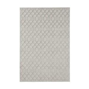 Sivý koberec Mint Rugs Shine Karro, 80 × 125 cm