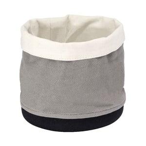 Úložný košík Wenko Soraya Grey, ⌀ 15 cm
