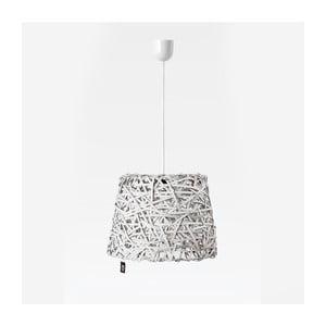 Stropné svetlo Roll, 35x29 cm, biele