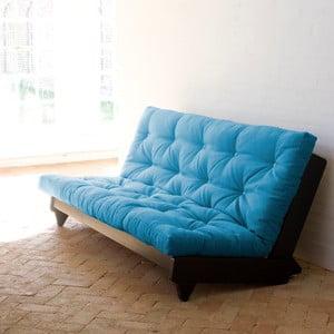 Rozkladacia pohovka Karup Fresh Wenge/Horizon Blue