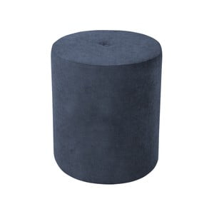 Tmavomodrá béžová taburetka Kooko Home Motion, ø 40 cm