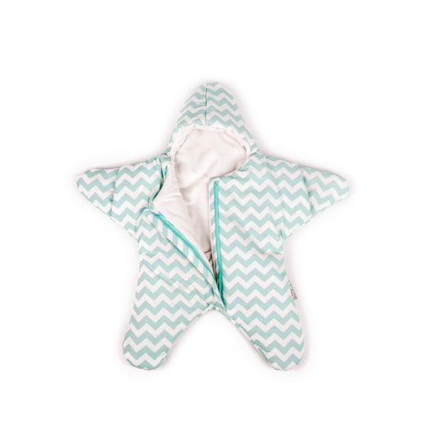 Detský vak na spanie Mint Star, vhodný aj na leto, pre deti od 4 do 7 mesiacov