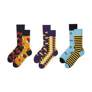 Set ponožiek v darčekovom balení Many Mornings Fauna, veľ. 43–46