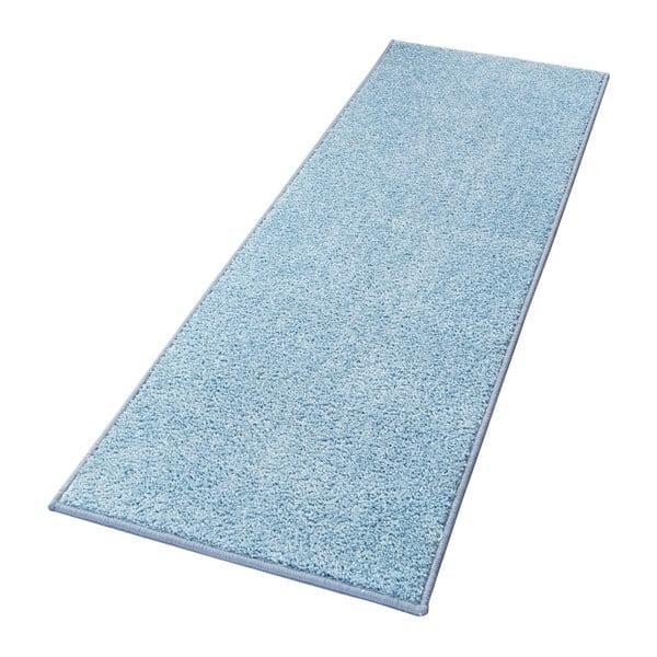 Modrý koberec Hanse Home Pure, 80 × 150 cm