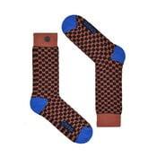 Ponožky Qnoop Shield Marsala, veľ. 39-42