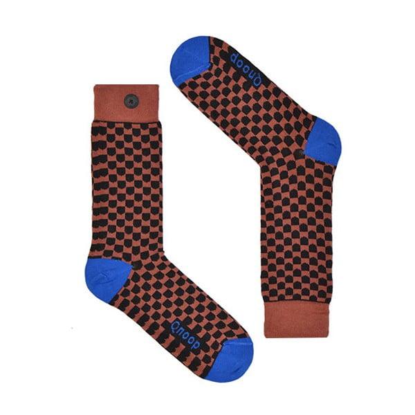 Ponožky Qnoop Shield Marsala, veľ. 43-46