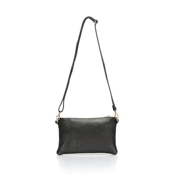 Koňakovo hnedá kožená kabelka Lisa Minardi Veronica