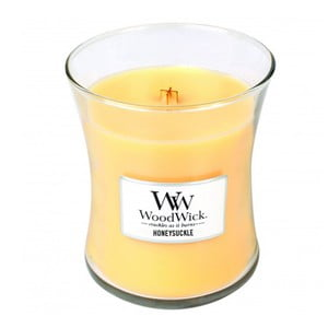 Vonná sviečka WoodWick v oválnej váze  Yellow Mind
