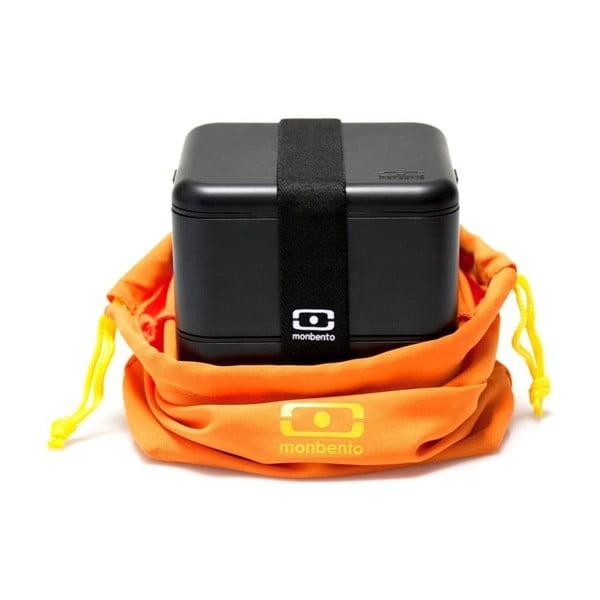 Oranžový obal na obedový box Monbento
