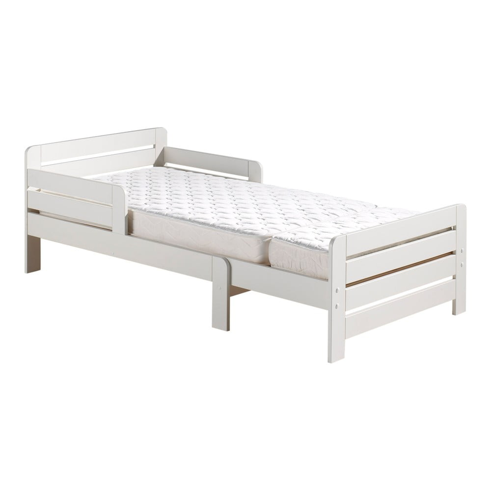 Biela nastavitelná posteľ Vipack Jumper White