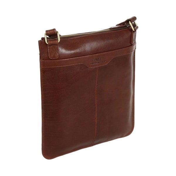 Dámska kožená taška Lilia Brown