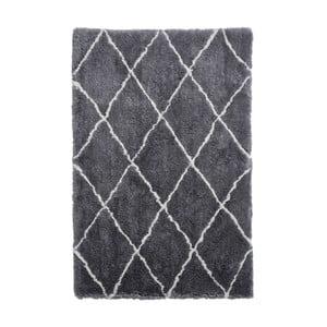 Sivo-krémový ručne tuftovaný koberec Think Rugs Morocco Grey & Cream, 200×290 cm