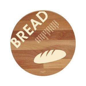 Doska na krájanie z bukového dreva Bisetti Bread, 30 cm