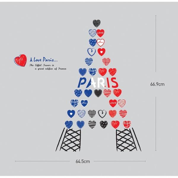 Samolepka Ambiance Love from Paris