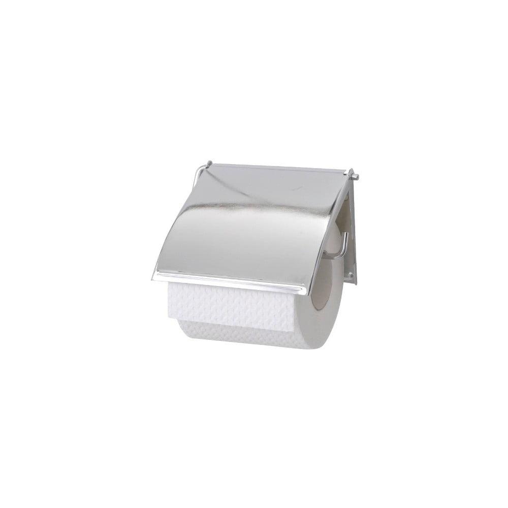 Antikoro nástenný držiak na toaletný papier Wenko Cover