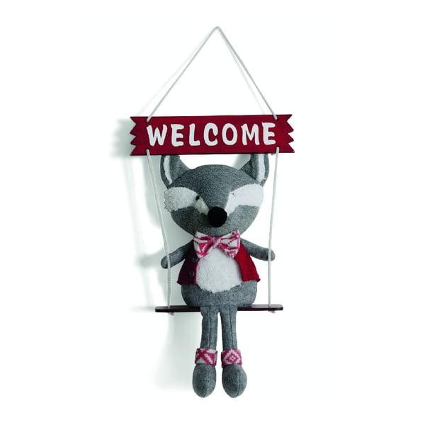 Dekorácia Welcome Fox