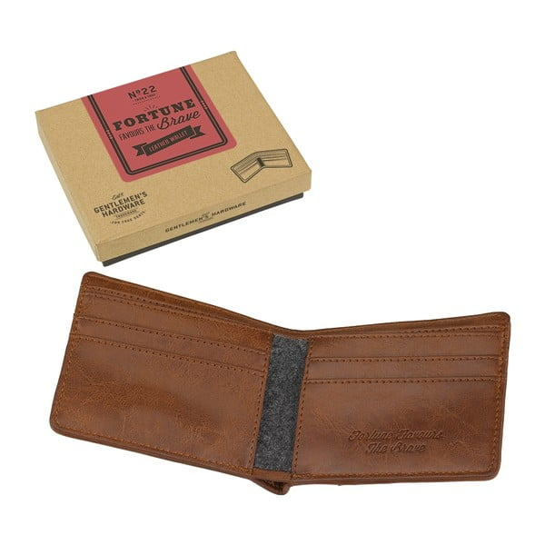 Kožená peňaženka Fortune