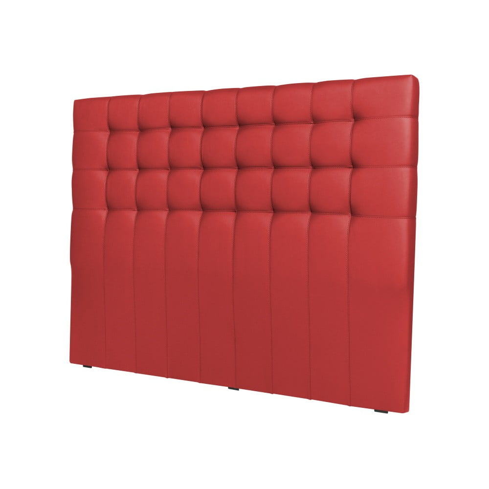 Červené čelo postele Windsor & Co Sofas Deimos, 200 × 120 cm