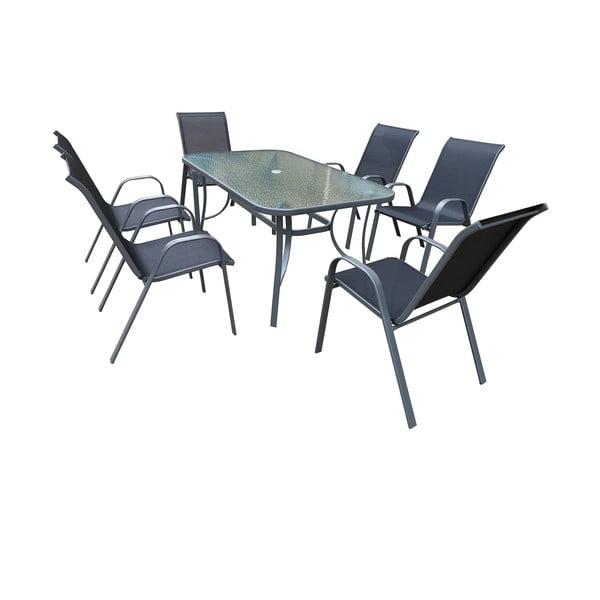 Set záhradného kovového nábytku Timpana Kingston