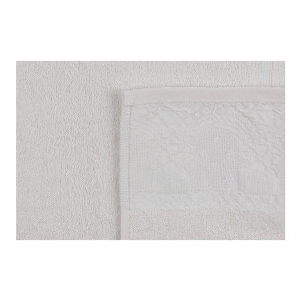 Sada dvoch uterákov v krémovej farbe Baroque, 90 × 50 cm