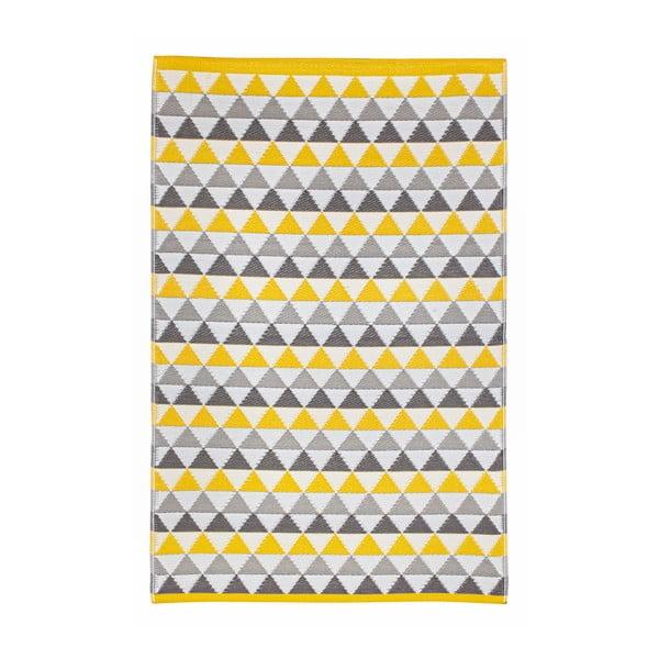 Koberec Mindi 120x180 cm, sivo-žltý