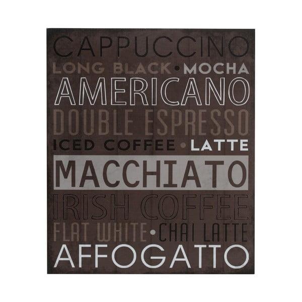 Drevený obraz Macchiato, 25x30 cm