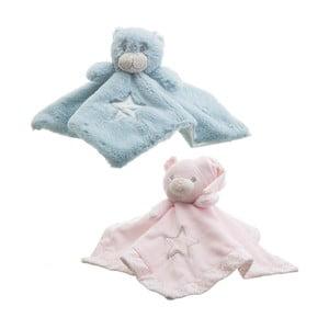 Sada 3 detských mazliacich diek s plyšákmi Unimasa Bears, 30 x 30 cm
