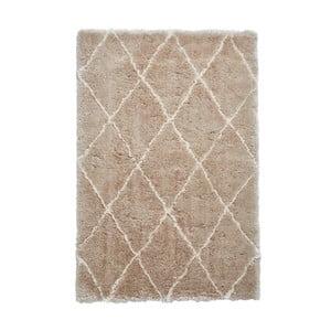 Béžovo-krémový ručne tuftovaný koberec Think Rugs Morocco Beige & Cream, 200×290 cm