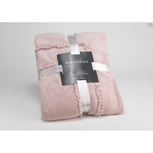 Deka Old Pink Froufrou, 170x130 cm