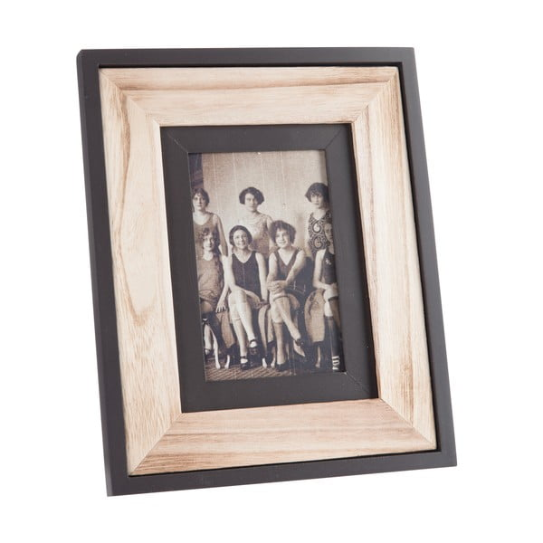 Fotorám Wood Black, 22x27 cm