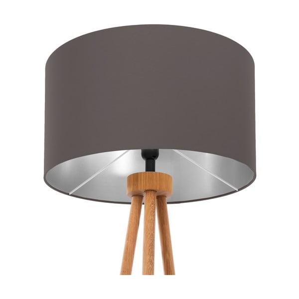 Stojacia lampa Stone Silver