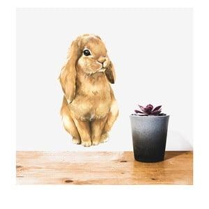 Nástenná znovu snímateľná samolepka Chocovenyl Bunny Cute