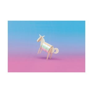 Lepiaca páska so stojančekom v tvare jednorožca Luckies of London Unicorn