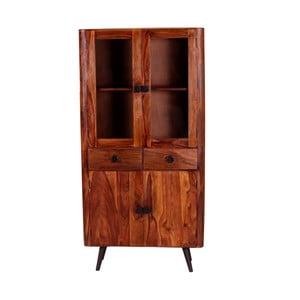Vitrína z palisandrového dreva SOB Bonk