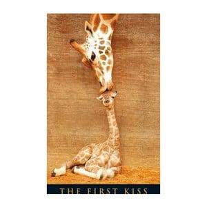 Fotoobraz The First Kiss, 51x81 cm